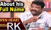 Chandrabose About his Full Name