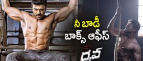 Ram Charan's six pack body look from Dhruva movie