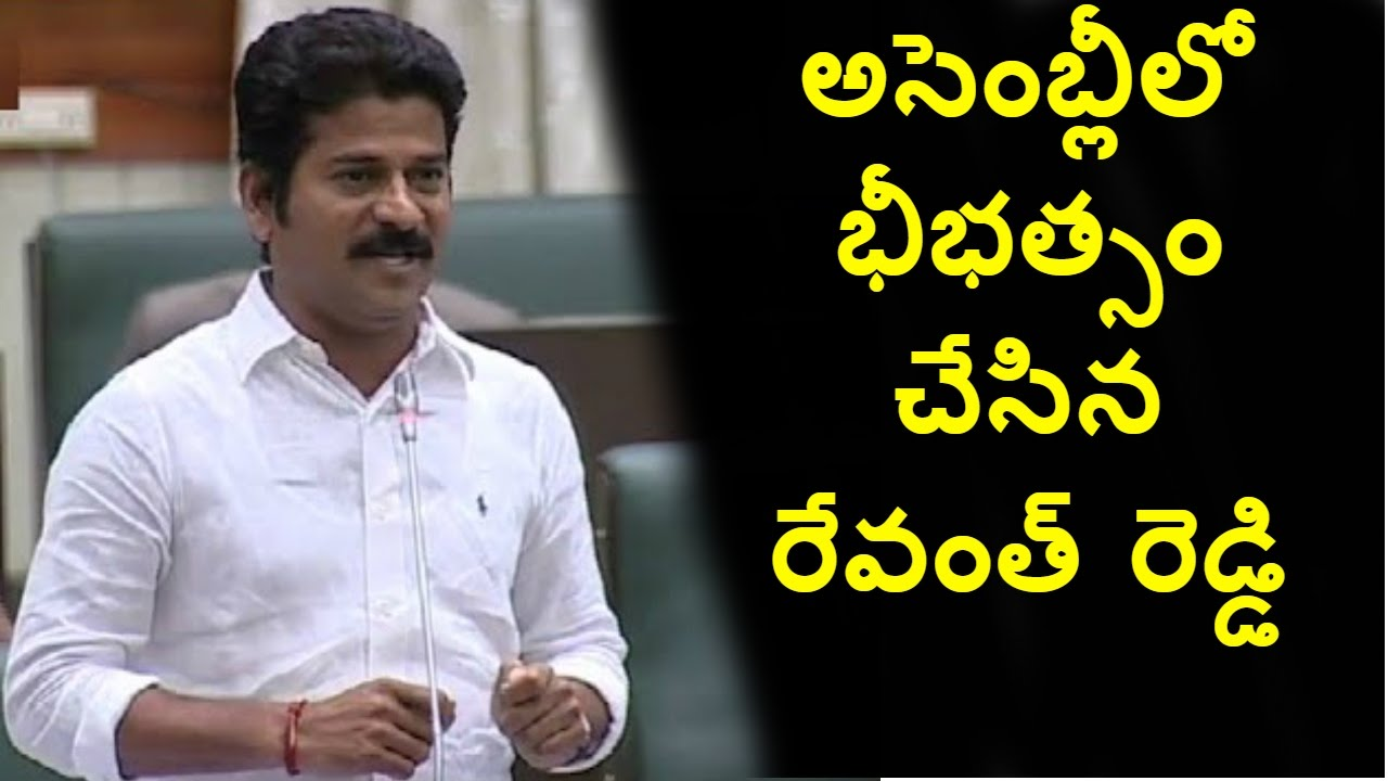 Revanth Reddy Hulchal In 2nd Day Of Telangana Assembly