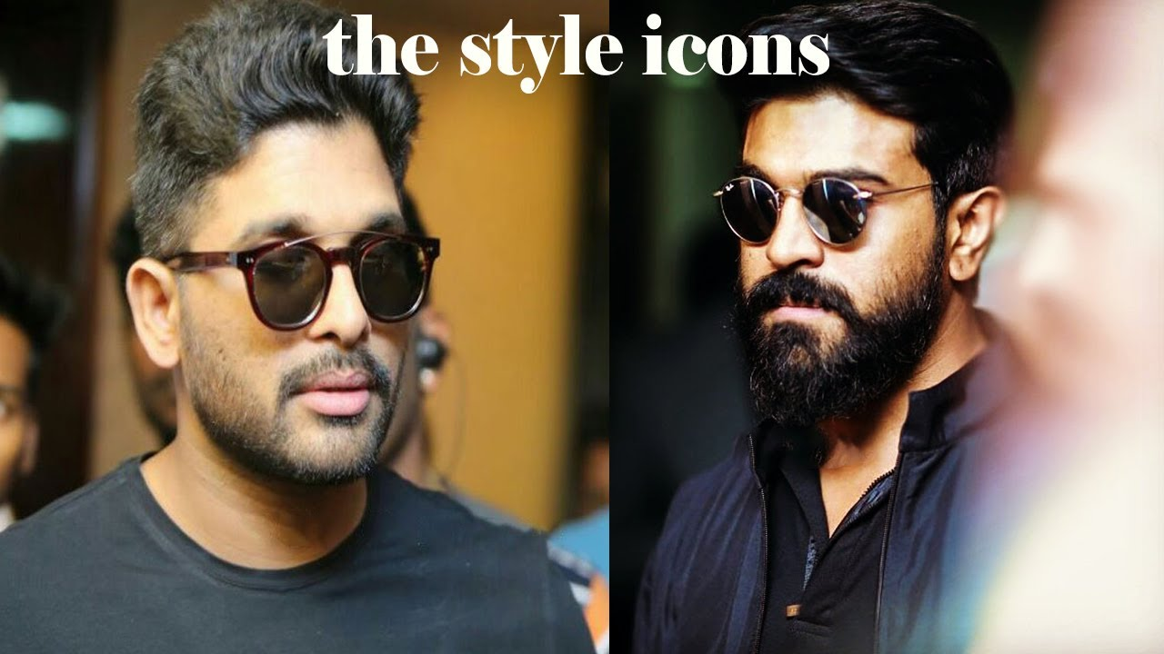 Allu Arjun And Ram Charan Amazing Look In Recent Event