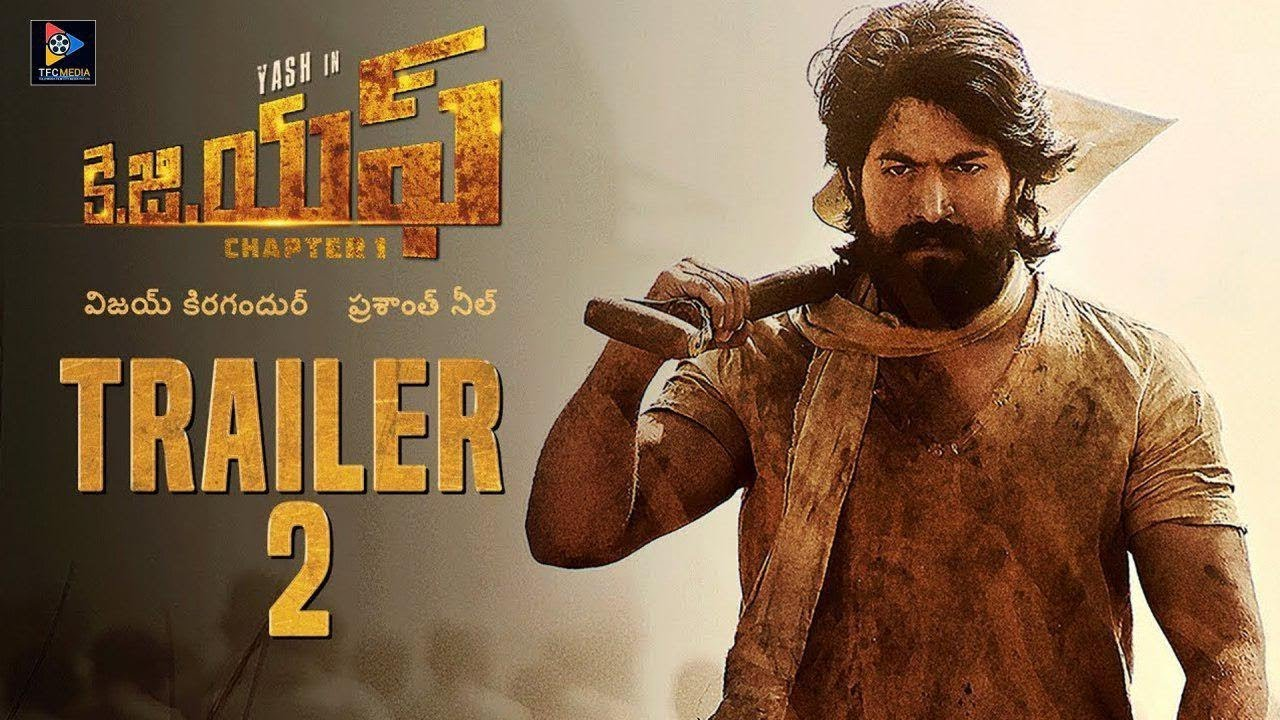 kgf movie 2nd trailer